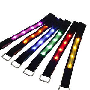 LED Ribbon Luminous Belt Waterproof Armband Fashion Runner/'s Lighting Outdoor TR