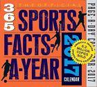 2017 Sports Factsayear Pageaday Calendar Workman Publishing 9780761188070