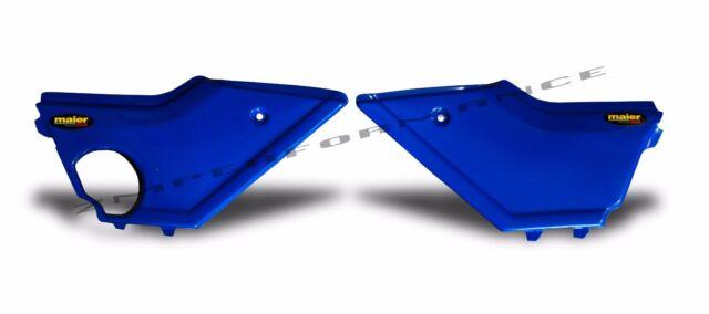 NEW HONDA TRX350 4X4 86 - 89 DARK BLUE PLASTIC SIDE PANELS PAIR TRX 350 PLASTICS