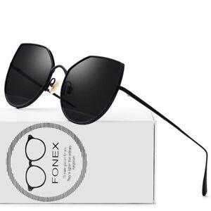 Women-Cat-Eye-Sunglasses-Pure-Titanium-Anti-Reflective-Ultralight-Sexy-Eyewear