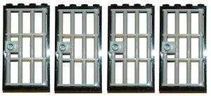 clips LEGO PORTCULLIS door gate 9x13 BLACK for castle dungeon large