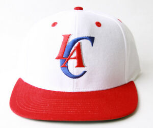 Adidas-Los-Angeles-Clippers-Flatbill-Snapback-Hat-GT-Sweat-Wristband-Red