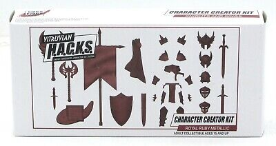 A00001 Gladiators Deluxe Accessory Kit Character Builder Vitruvian H.A.C.K.S