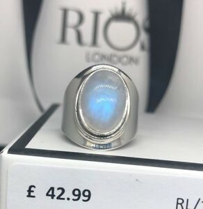 Stunning-Moonstone-925-Sterling-Silver-Gemstone-Ladies-Mens-Ring-Gift-Boxed