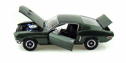Mustang 1968 verde Steve McQueen Bullit 1 18 verdelight 12822