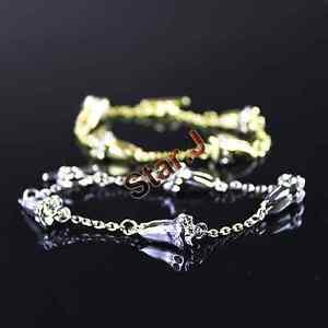 2pcs-Dentist-Dental-Hygienist-Diamond-Molar-Tooth-Charm-Bracelet-Hand-Chain-Gift
