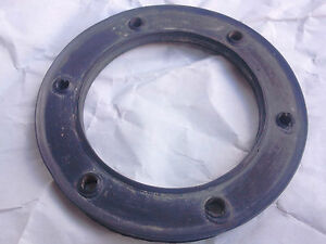 Alfa Romeo 105 series FUEL FLOAT SEAL, 6 HOLE, NEW OLD STOCK