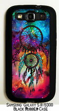 Nebula Galaxy Space Dreamcatcher Black Case Cover For Samsung GalaxyS3 i9300