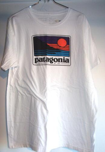 """Patagonia T-Shirt Large Slim Fit Organic Cotton """"C"""
