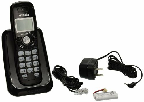 Vtech CS6114-11 Black Cordless Phone Caller ID Call Waiting DECT 6.0
