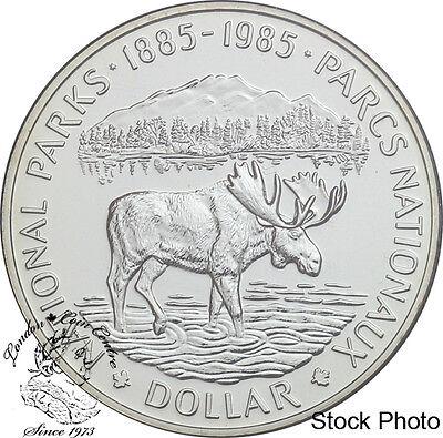 Canada 1974 $1 Winnipeg Centennial Silver Dollar Coin in Capsule Only
