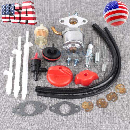Carburetor Kit For Craftsman 536.881851 8.5HP 15B100 15C100 15D100 15Z100 15Z300