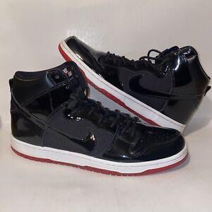 Nike-SB-Zoom-Dunk-High-Rivals-Pack-Bred-Jordan-1-11-Newcastle-AJ7730-001-Size-13