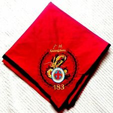 ACHPATEUNY OA 498 803 FAR EAST FLAP TROOP 183 GUANGZHOU CHINA DRAGON NECKERCHIEF