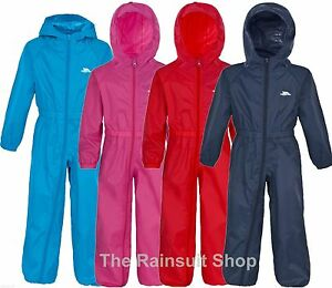 TRESPASS-KIDS-BUTTON-SUIT-WATERPROOF-ALL-IN-ONE-PUDDLE-RAINSUIT-12-MTHS-to-8YRS