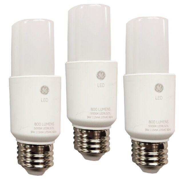 GE 75588 Led9ls3//850 Tubular LED Light Bulb 9w Bright Stick 60weq for sale online