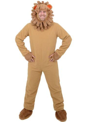Adulto Uomo Leone Animale Halloween Costume GIORNATA MONDIALE DEL LIBRO-Taglia unica