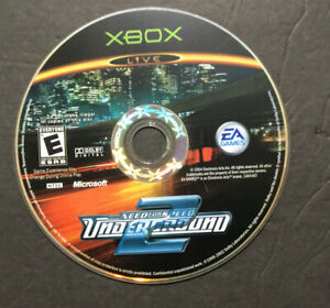 Need for Speed: Underground 2 (Microsoft Xbox, 2004) - DISC ONLY Tested Working