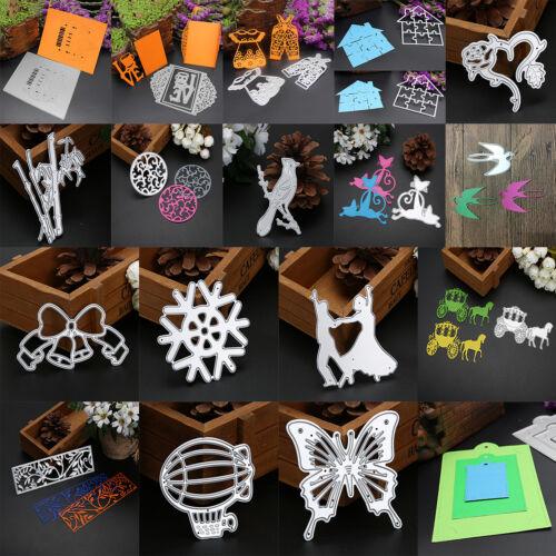 Various Metal DIY CUTTING DIES Stencil Scrapbook Album Paper Cards Embossing HOT