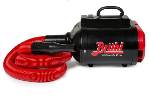 Bruhl Md2800 pro Profi Motorrad Power Trockner 2800w Variable Geschwindigkeit