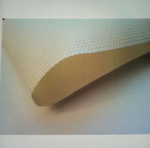100/% Tela De Algodón 14 Número de crema aida 75cm X 50cm