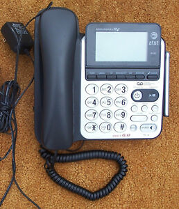 AT T CL84100 telephone - digital answering machine spea