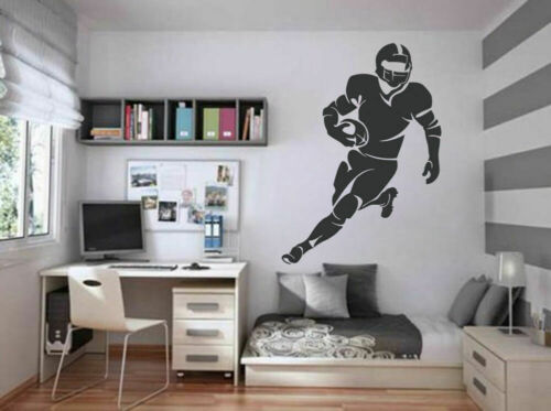 ik974 Wall Decal Sticker American rugby sports team game football kids bedroom