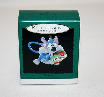 "Hallmark /""Furrball /"" Miniature Ornament Dated 1995"