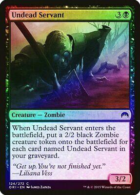 Scourge Servant FOIL Mirrodin Besieged NM-M Black Common MAGIC MTG CARD ABUGames