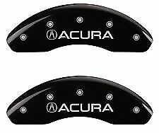 MGP Caliper Brake Covers For Acura 2004-2008 TL Base Black Paint 39006SACUMB