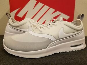 Women's Nike Air Max Thea Ultra Running Shoes White/Met Silver 844926 100  6 - 9