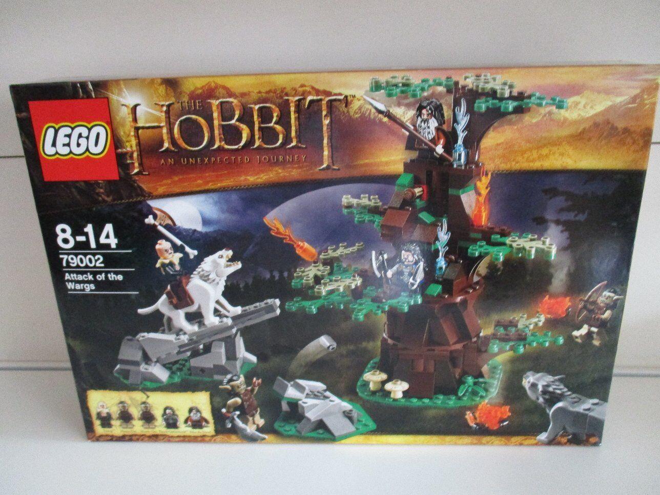Lego 79002 the hobbit ataque de la wargs nuevo embalaje original sin abrir