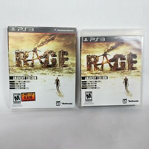 Rage (Sony PlayStation 3, 2011) TESTED