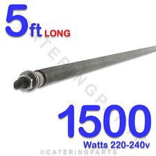 """He6015 60 """" / 5 pies de largo 1500 vatios 1.5 kw Uso Universal 8 mm OD Horno Calefacción elementos"""