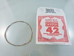 ernie ball custom gauge nickle wound electric guitar string. Black Bedroom Furniture Sets. Home Design Ideas