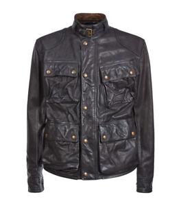 69d9c8e3b Image is loading Polo-Ralph-Lauren-Southbury-Black-Leather-Biker-Jacket-