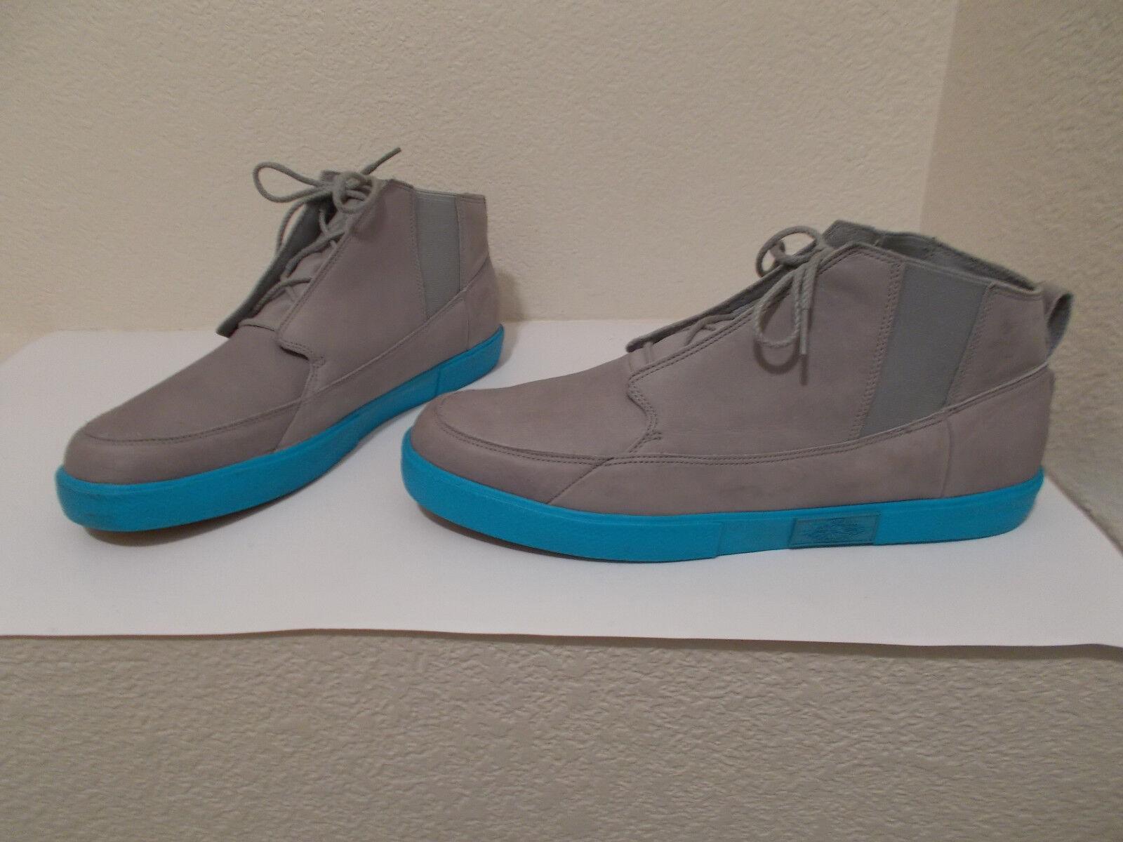 Nike Air Jordan V.2 Grown Matte Silver/Chlorine Blue-Spark 414174-005 Size 14