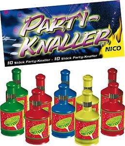 10-100-Party-Popper-Luftschlangen-Knaller-Kinder-Feuerwerk-Fasching-Silvester