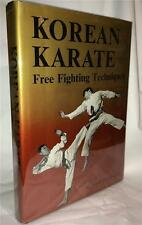 1970 KOREAN KARATE FREE FIGHTING TECHNIQUES SIHAK HENRY CHO MARTIAL ARTS DEFENSE