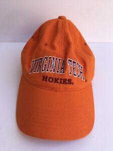 the best attitude dc9c5 fa8ba ... coupon code for image is loading virginia tech vt hokies mens orange  baseball hat efaa2 3a1e8