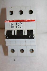ABB S273 K8A CIRCUIT BREAKER 8 AMP, 277/480 VOLT, 3 POLE NEW