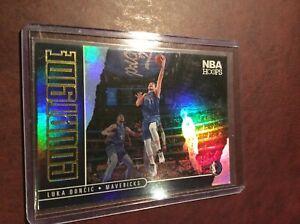 2020-21 NBA Hoops Silver Holo Courtside LUKA DONCIC. Dallas Mavericks