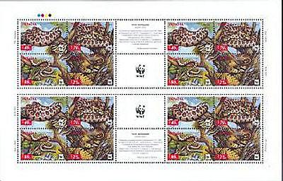 Katalognummern Nac Im Sommer KüHl Und Im Winter Warm Das Beste Ukraine 502-505 * Schlange Leopardnatter Kleinbogen 11281