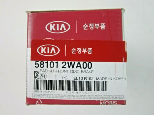 OEM GENUINE FRONT BRAKE PADS KIT FOR 13-15 HYUNDAI SANTA FE 3.3L 58101-2WA00