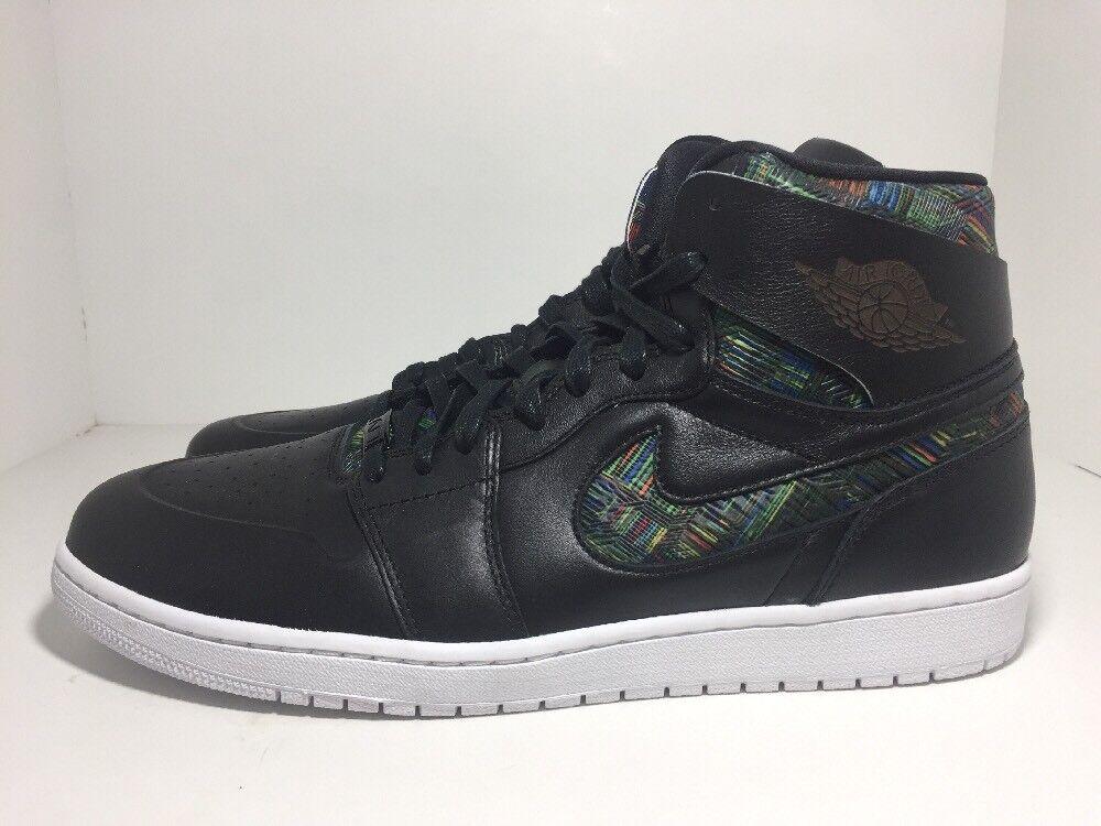 Nike 1 air jordan 1 Nike 'alto nouveau bhm nero 836749-045 uomo numero 14 25db15