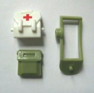 Custom-Medic-pack-sacoche-sac-a-dos-amp-etui-pour-lego-minifigures-WWII-SOLDAT