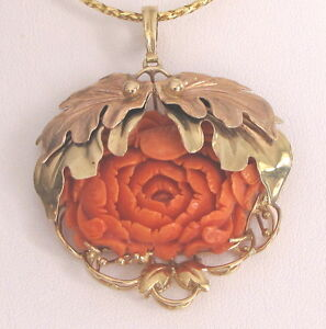 coral vermeil gold agpb prev designs pendant vedka red product e locket