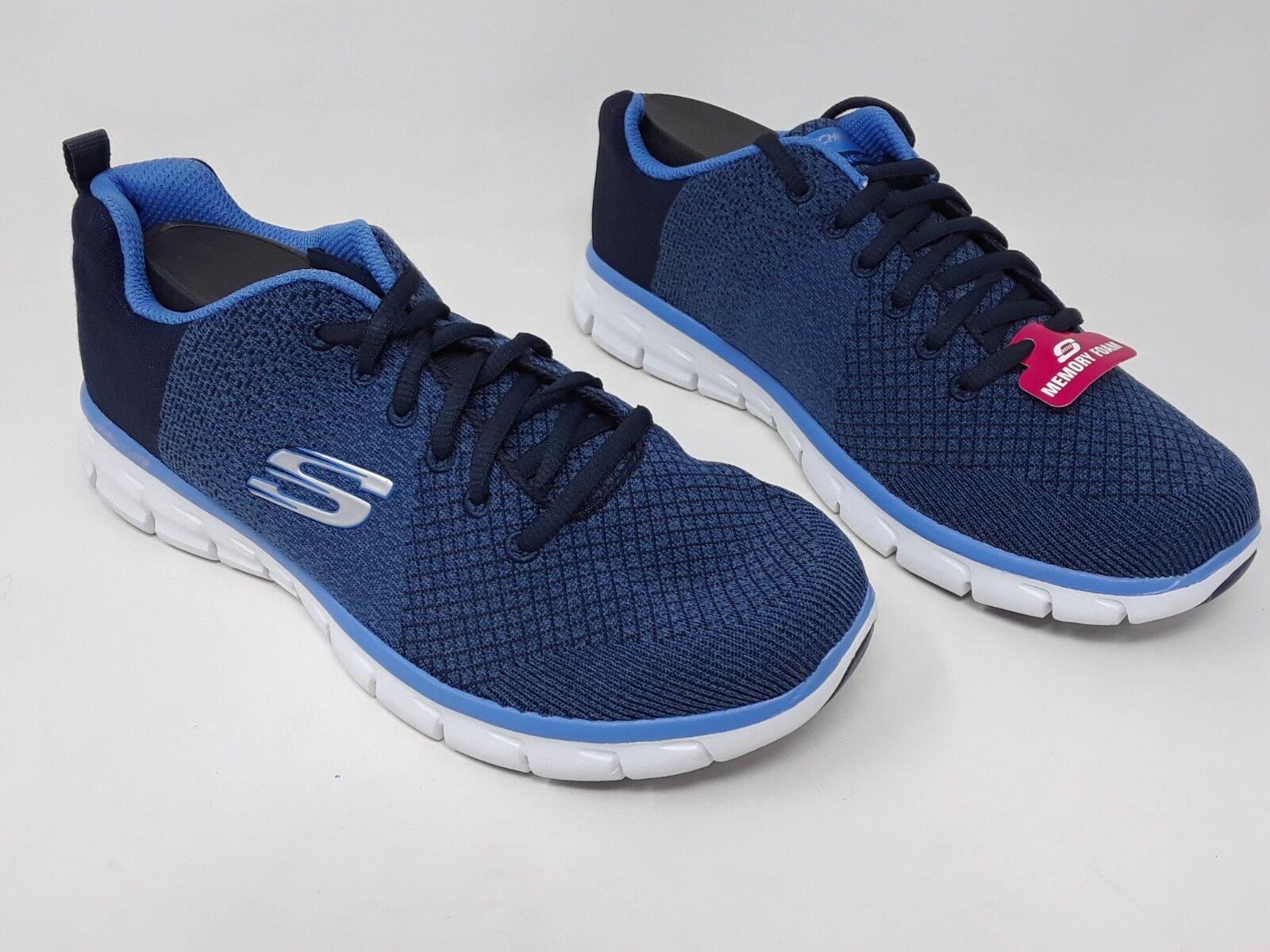 Nuevo  para mujer mujer mujer Relaxed Fit Skechers Skech Flex fuerza de vida Azul Azul Marino 12625H 62U  comprar marca