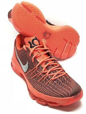reputable site 4e858 52f4a New Nike KD 8 VIII Bright Crimson 749375-610 Men s Basketball Shoes Size  10.5