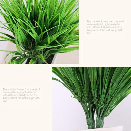 Plantes artificielles Faux feuillage de feuilles Bush Office Home Outdoor O OFQ